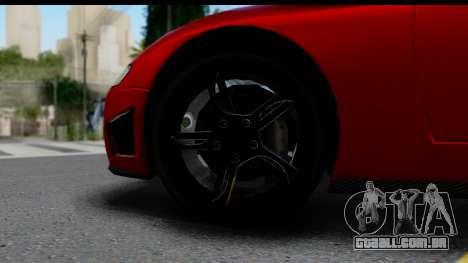 GTA 5 Overflod Entity XF IVF para GTA San Andreas vista direita
