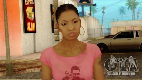 Rochelle from Left 4 Dead 2 para GTA San Andreas terceira tela