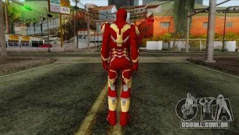 Iron Man Mark 43 Svengers 2 para GTA San Andreas segunda tela