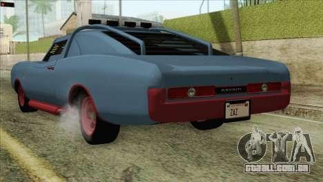 GTA 5 Imponte Dukes ODeath HQLM para GTA San Andreas esquerda vista