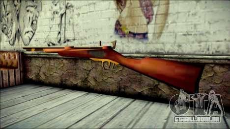 Tokisaki Kurumi Rifle para GTA San Andreas segunda tela