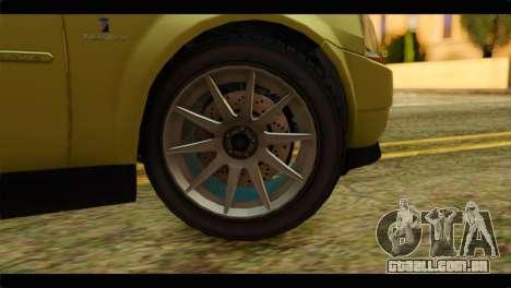 GTA 4 Presidente para GTA San Andreas traseira esquerda vista