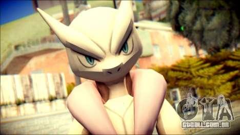 Mega Mewtwo X para GTA San Andreas terceira tela