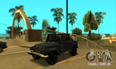 Mesa Final para GTA San Andreas esquerda vista
