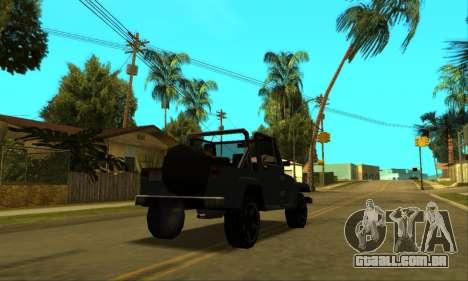 Mesa Final para GTA San Andreas interior