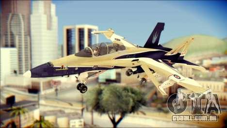 FA-18D Hornet RCAF para GTA San Andreas