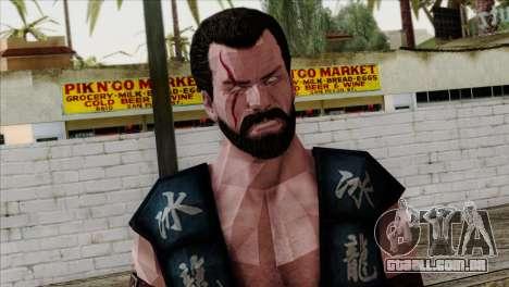 Sub-Zero Skin Mortal Kombat X para GTA San Andreas terceira tela