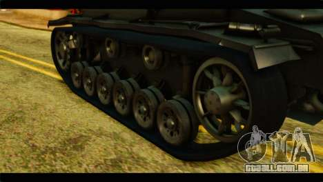 StuG III Ausf. G Girls und Panzer para GTA San Andreas vista traseira