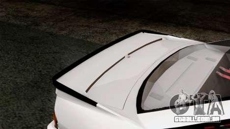 Opel Manta 400 v2 para GTA San Andreas vista traseira