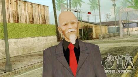 O Antigo Chefe De Tríades para GTA San Andreas terceira tela