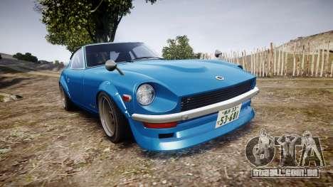 Nissan Fairlady Z (S30) Devil Z para GTA 4