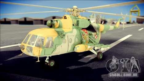 Mil Mi-8 Polish Air Force para GTA San Andreas