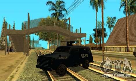 Beta FBI Truck para GTA San Andreas esquerda vista