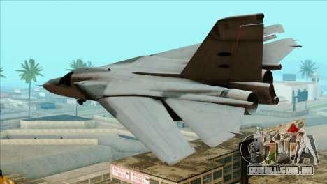 General Dynamics F-111 Aardvark para GTA San Andreas esquerda vista
