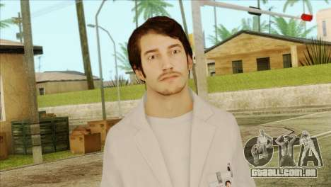 Takedown Redsabre NPC Scientist para GTA San Andreas terceira tela