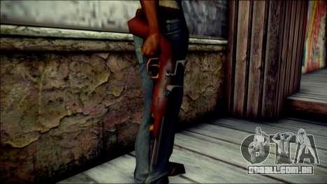 Tokisaki Kurumi Desert Eagle para GTA San Andreas terceira tela