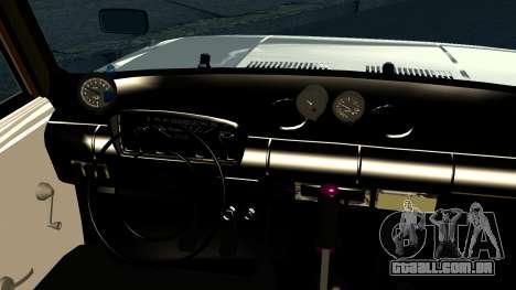 VAZ 2101 Cólicas para GTA San Andreas vista interior