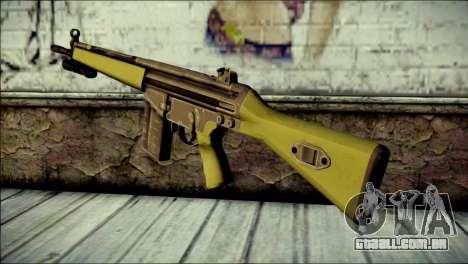 HK G3 Flashlight para GTA San Andreas segunda tela