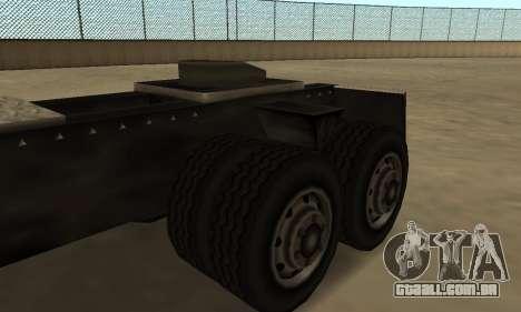PS2 Tanker para GTA San Andreas vista traseira