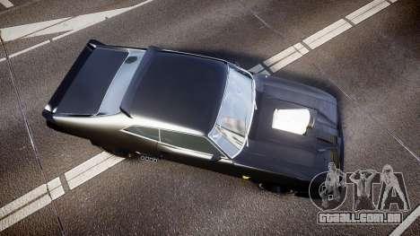 Ford Falcon XB GT351 Coupe 1973 Mad Max para GTA 4 vista direita
