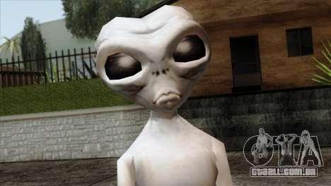 Zeta Reticoli Alien Skin from Area 51 Game para GTA San Andreas terceira tela