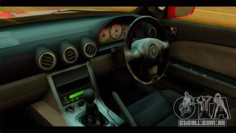 Nissan Silvia S14 Yuuki Asuna Itasha para GTA San Andreas vista direita