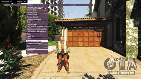 GTA 5 Skin Control v1.1 terceiro screenshot