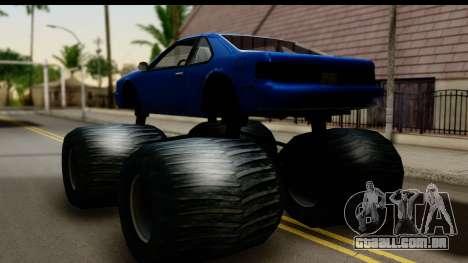 Monster Fortune para GTA San Andreas esquerda vista