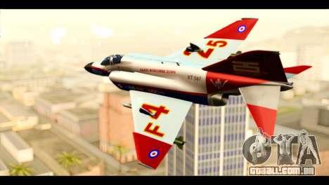McDonnell Douglas F-4E Phantom II para GTA San Andreas esquerda vista