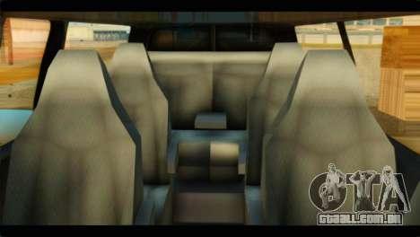 GMC Savana 3500 Passenger 2013 para GTA San Andreas vista direita