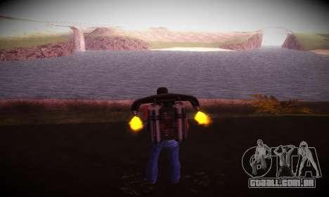 Ebin 7 ENB para GTA San Andreas terceira tela