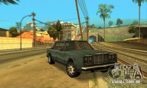 Beta VC Greenwood para GTA San Andreas vista interior