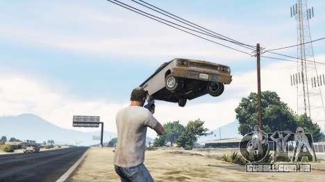 GTA 5 A arma de gravidade v1.7 segundo screenshot