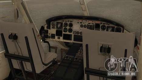 Agusta-Bell AB-212 Croatian Police para GTA San Andreas vista traseira