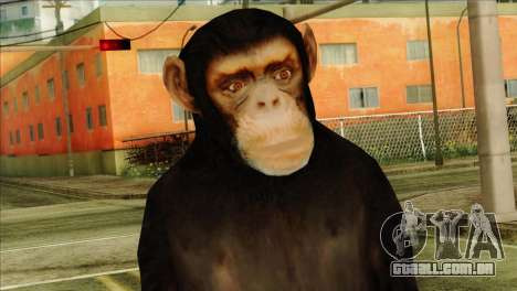Monkey Skin from GTA 5 v1 para GTA San Andreas terceira tela