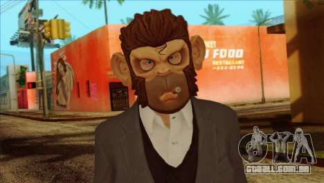 Skin from GTA 5 para GTA San Andreas terceira tela