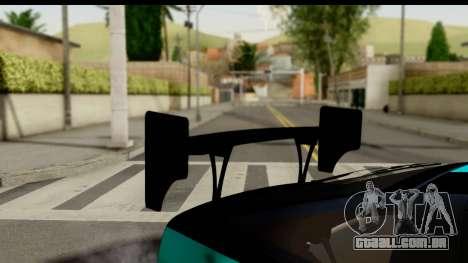 Nissan 200SX S13 Skin para GTA San Andreas vista traseira