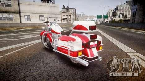 GTA V Western Motorcycle Company Sovereign POL para GTA 4 traseira esquerda vista