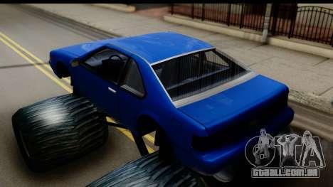 Monster Fortune para GTA San Andreas traseira esquerda vista