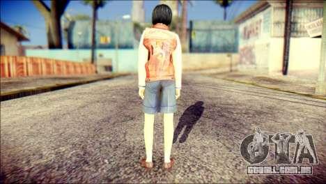 Sofia Child Skin para GTA San Andreas segunda tela