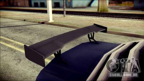 Sentinel GT para GTA San Andreas vista direita