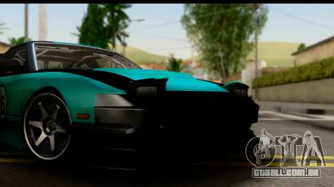 Nissan 200SX S13 Skin para GTA San Andreas traseira esquerda vista