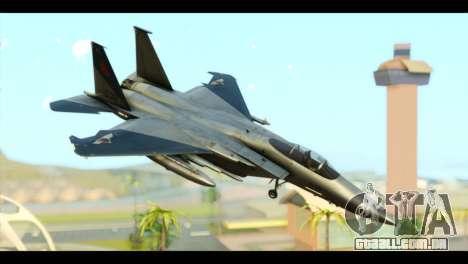 F-15C Eagle para GTA San Andreas