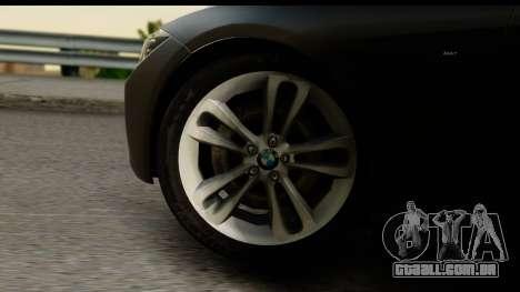 BMW 335i Coupe 2012 para GTA San Andreas vista traseira
