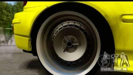 Honda Civic 1.4 Taxi para GTA San Andreas vista traseira
