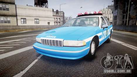 Chevrolet Caprice 1993 LCPD With Hubcabs [ELS] para GTA 4