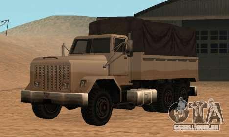 Barracks Fixed para GTA San Andreas