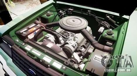 Ford LTD LX 1985 v1.6 para GTA 4 vista superior