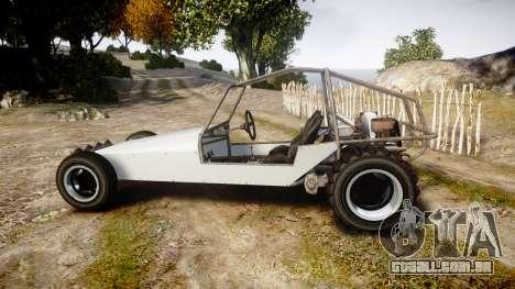 GTA V BF Dune Buggy para GTA 4 esquerda vista