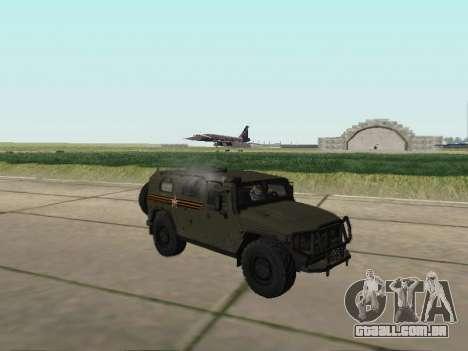 GAZ 2330 Frente para GTA San Andreas vista direita
